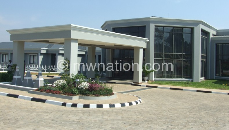 The Grand Palece Hotel has changed the face on Mzuzu City