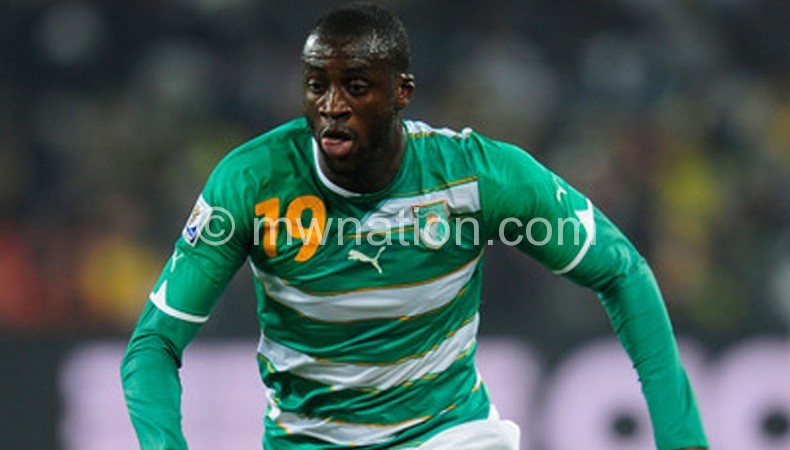 The only African who made the list: Toure