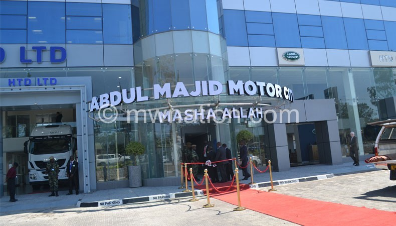 The volatility of the kwacha has affected the sales of vehicles