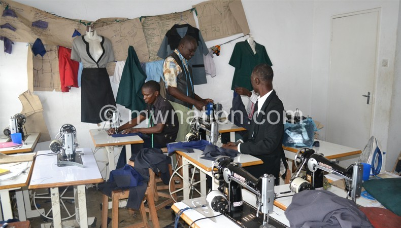 Youths need to be taught tailoring skills