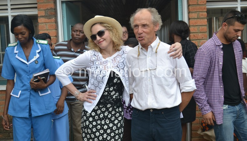 Previously: Madonna cuts a pose with Paediatrician Dr. Eric Borgestein