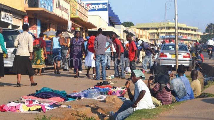 Vendors slow return on Lilongwe streets