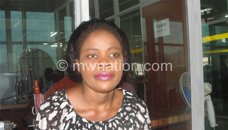 Wants access to her son: Njala