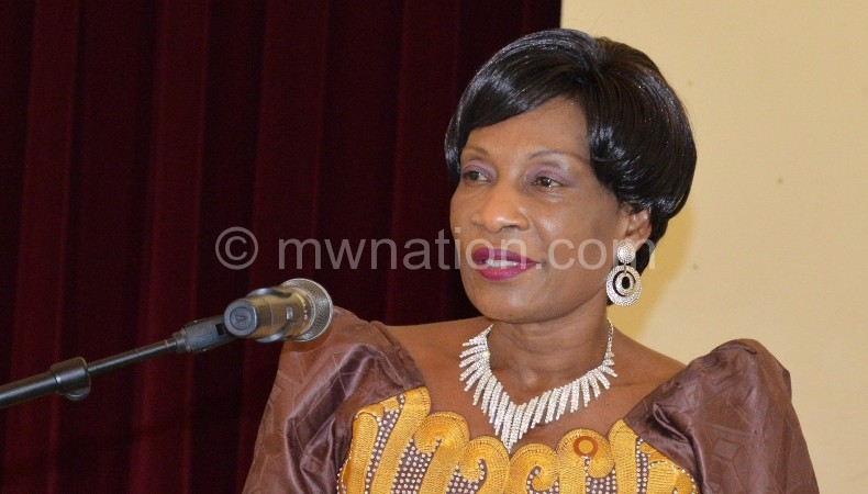 First lady asks CCAP women to be exemplary