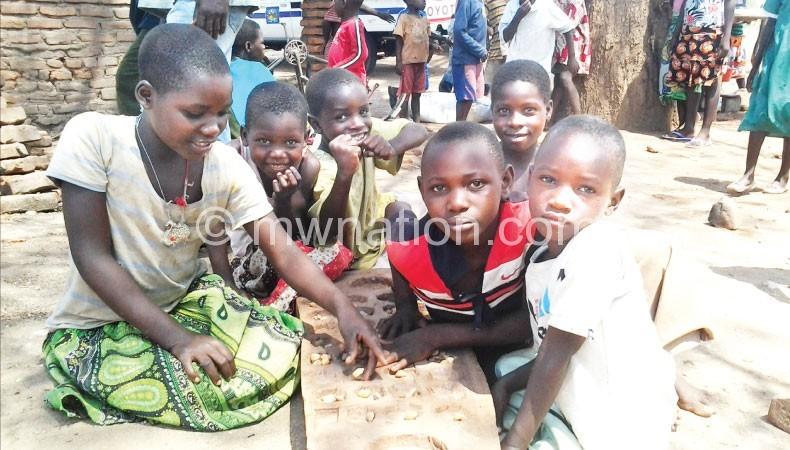 Some displaced children