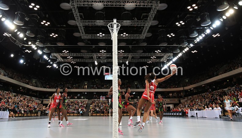 Part of Wednesday game between Malawi and England