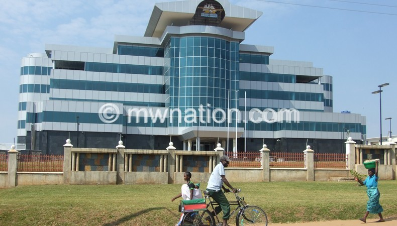 The Front View Of New Mzuzu Branch Reserve Bank Malawi