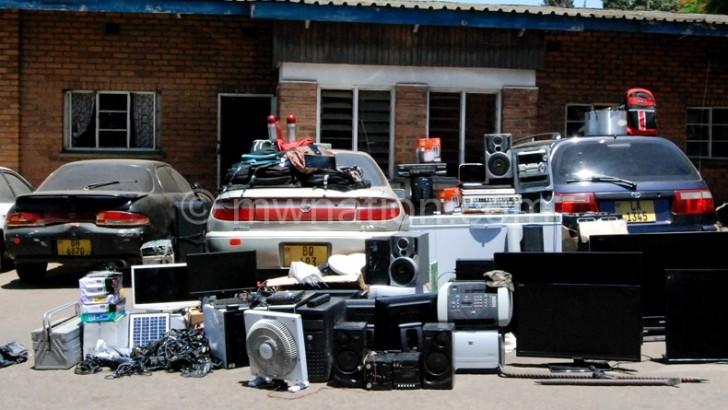 Blantyre Police recover K20m stolen property