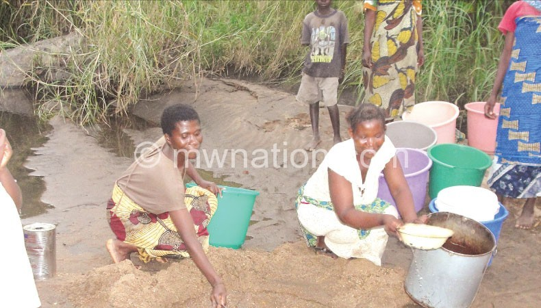 Drawing water | The Nation Online