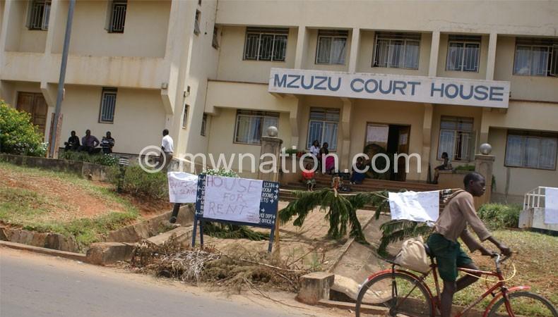 Mzuzu Judicary support staff during the strike