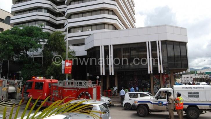 Fire scare at Chayamba Building