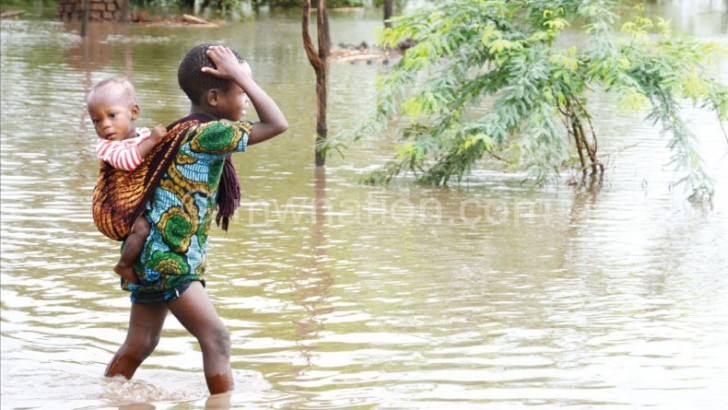 Effect of floods haunt  people of Nsanje