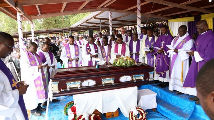 Zuza laid to rest