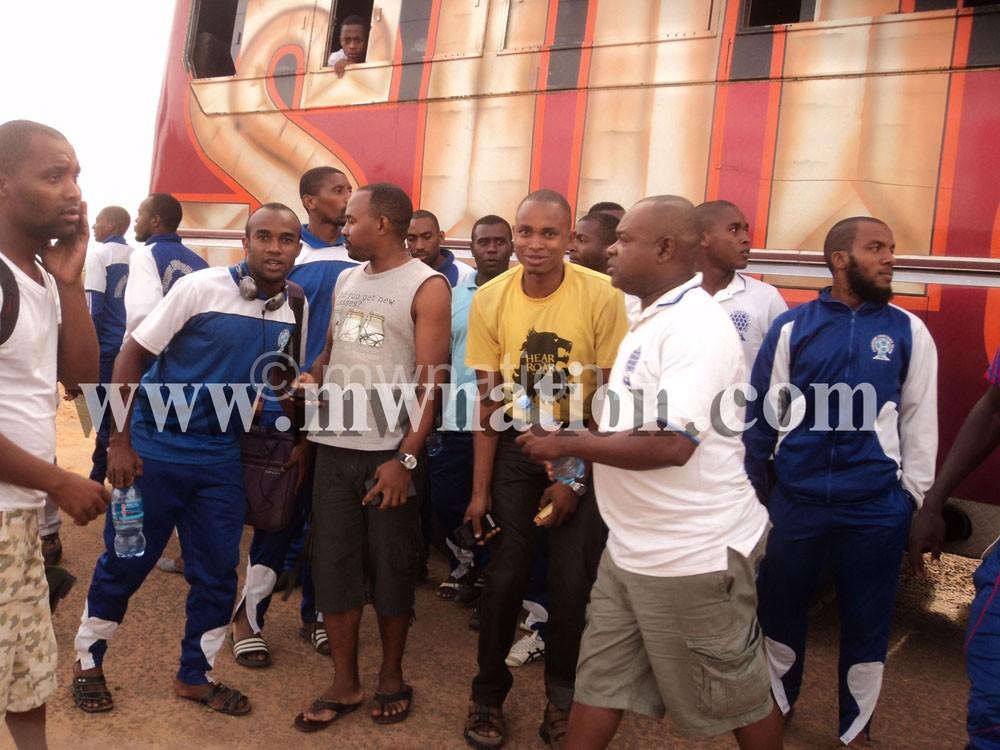 Fomboni FC captured in Mzuzu today
