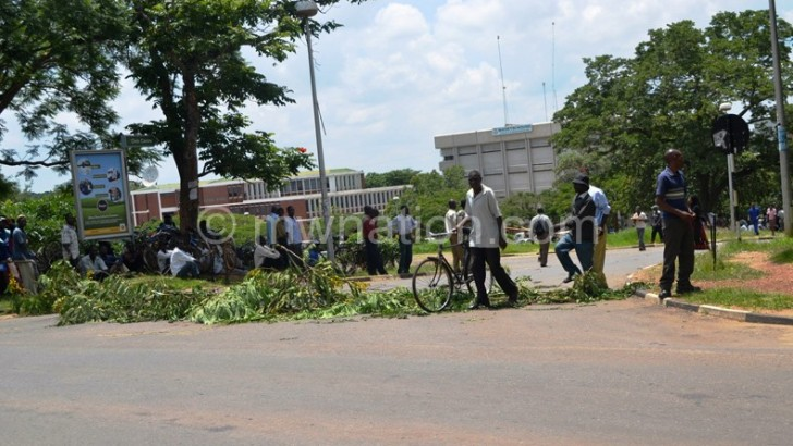 Lilongwe City Council staff down tools