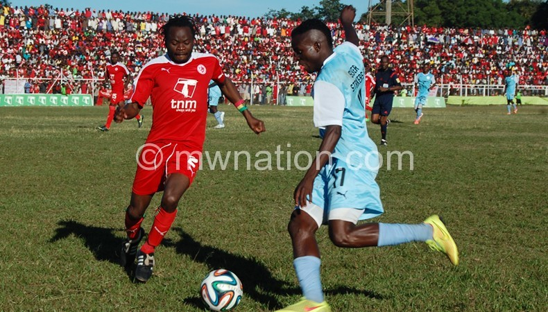 Silver captured in action against Bullets in a TNM Super League