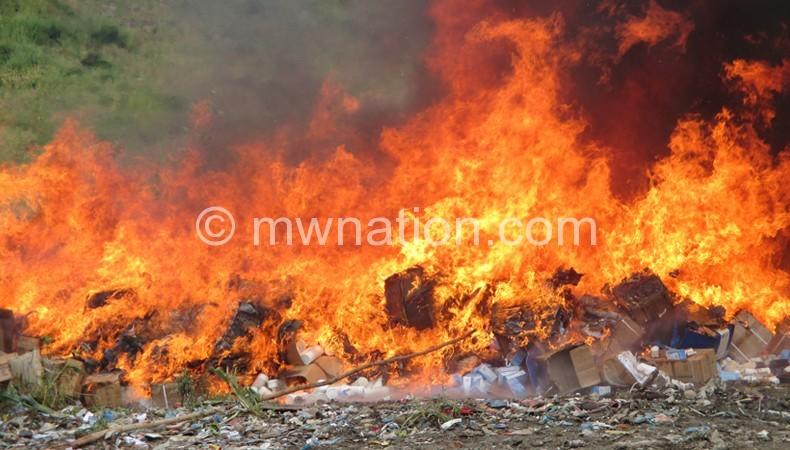 drus burn | The Nation Online