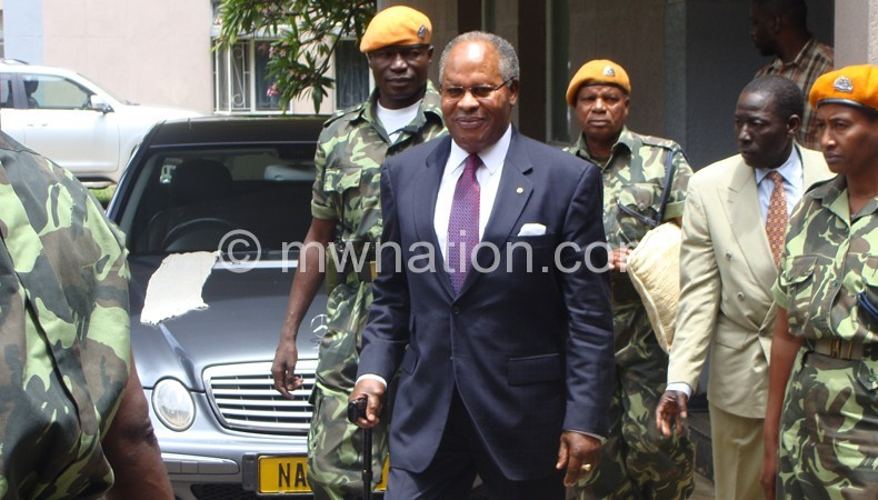 His trial will resume on April 11: Muluzi