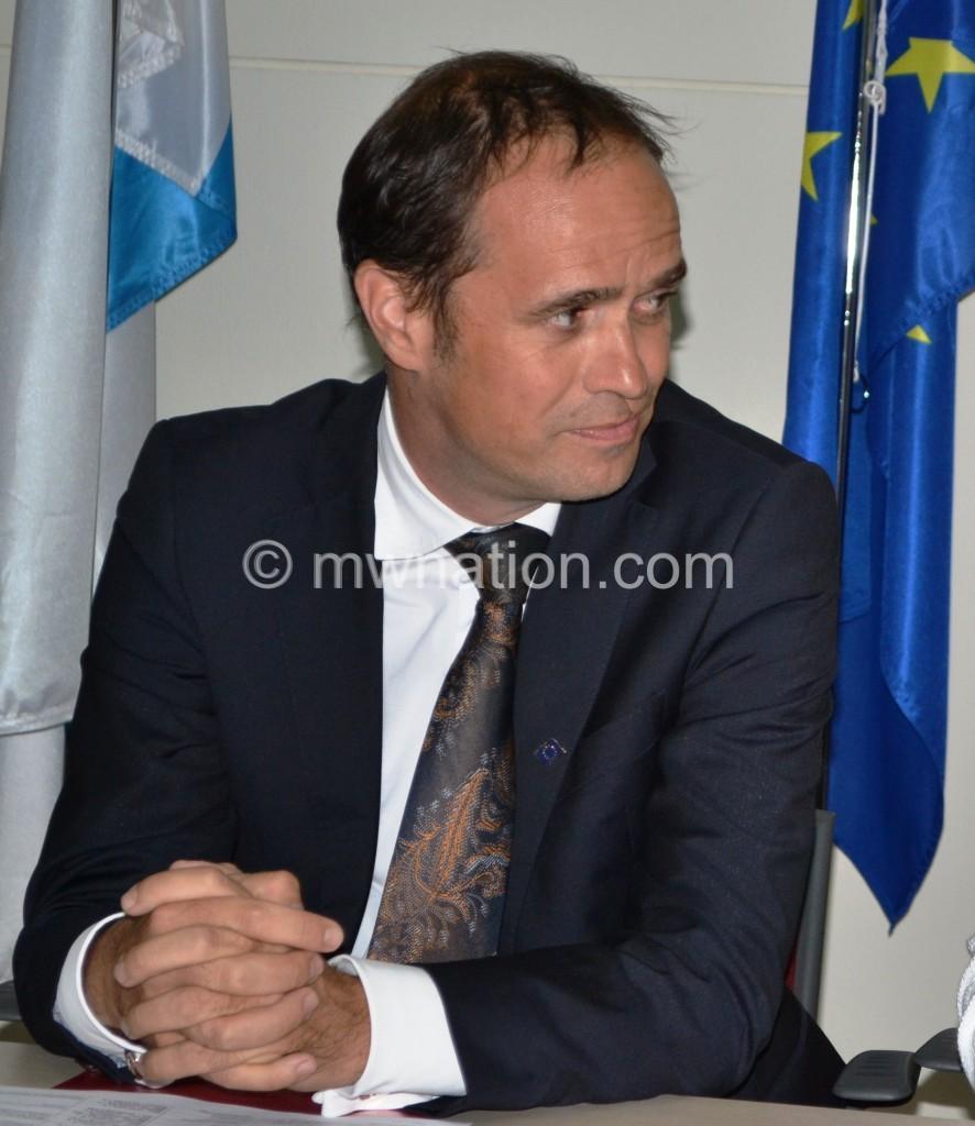 EU Head of deligation Marchel Gerrmann