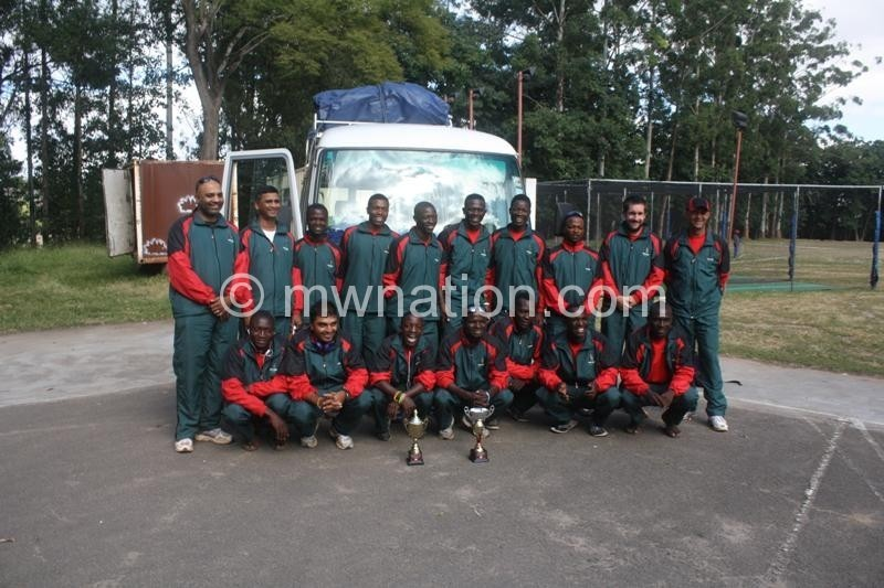 The Malawi National Cricket team