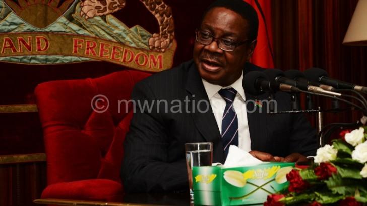 Cabinet Reshuffle: Mutharika Fires Gowelo, Chibingu