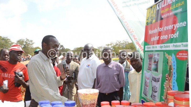 Agriculture sector players call for regional fairs