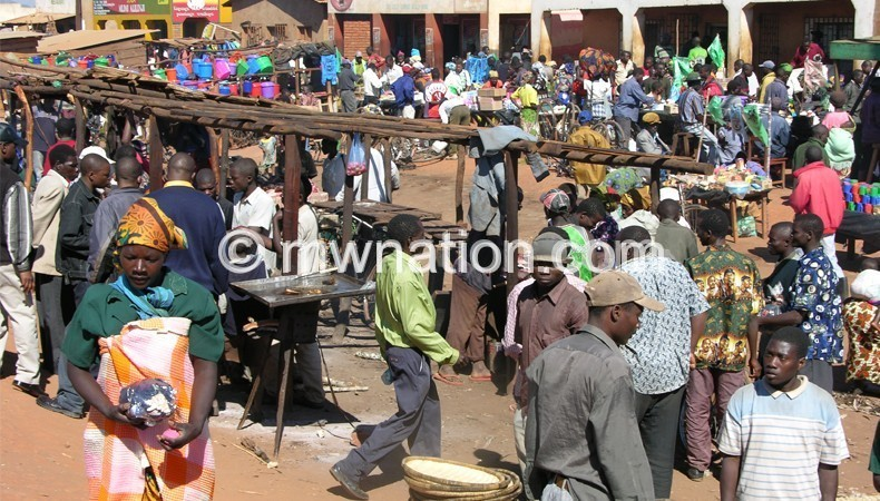 Jenda Market in Mzimba is one of the rural growth centres benefiting from LED project