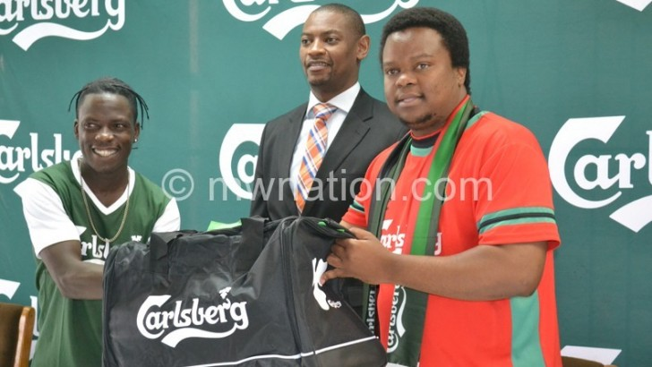 Carlsberg sets hype  for Flames game