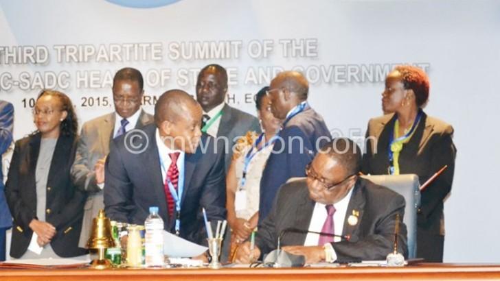 Africa creates Cape to Cairo free trade zone