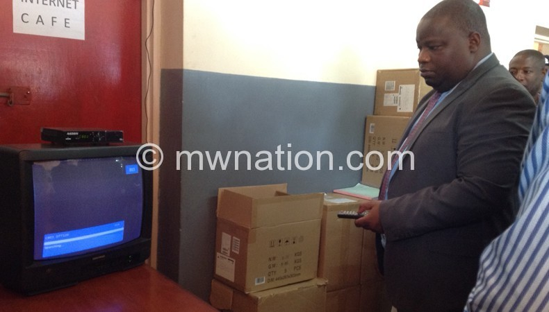 Checking the switch-over to digital: Nankhimwa