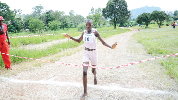 One of the athletes expected to take part in the event: Malembo
