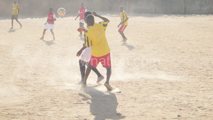 PlaySoccer action between Cape Tech FC and New Bamako FC