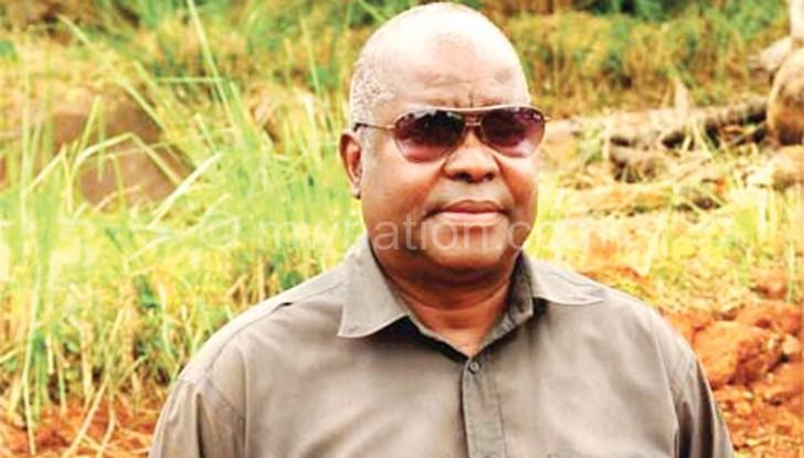 Chimombo died last December