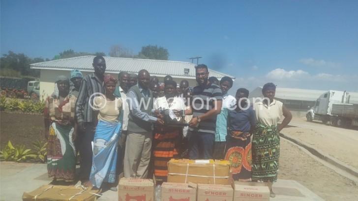 Mangochi residents laud mining company