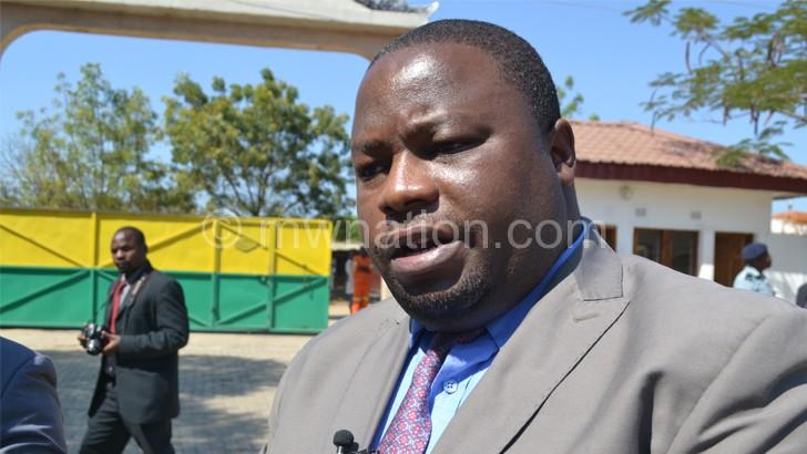 Nankhumwa: We are working on it