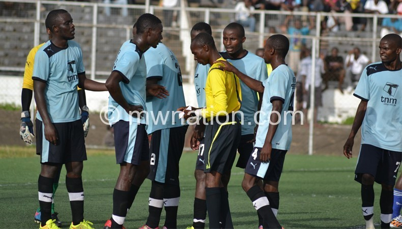 Dejected Silver Strikers players