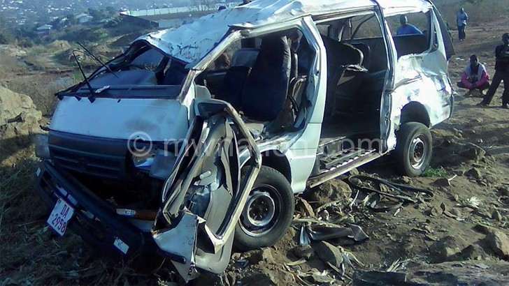 One dead, two injured in Chilomoni accident