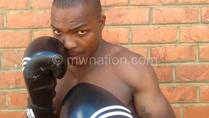 Chazama steps up preps  ahead of international fight