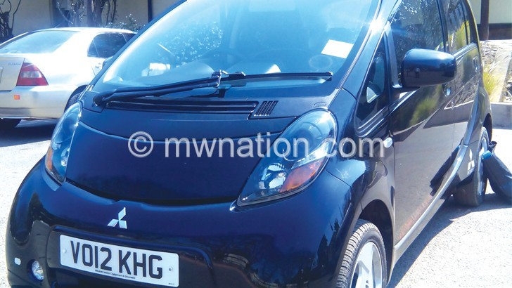 First electric car arrives in Malawi