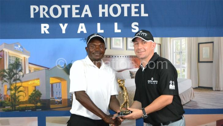 Kachepatsonga defends Protea Ryalls Golf