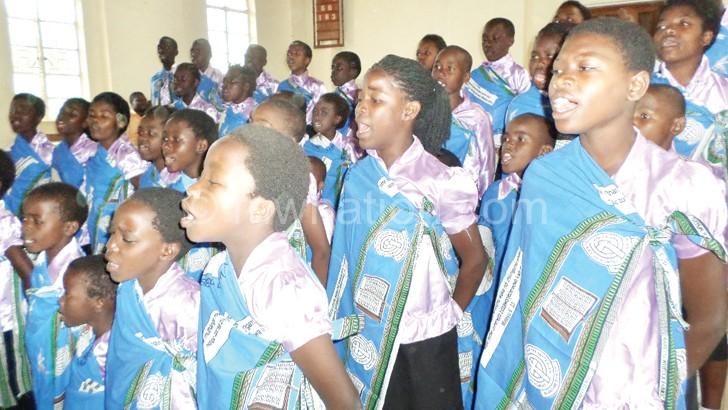 Blantyre City Presbytery promotes children's talents