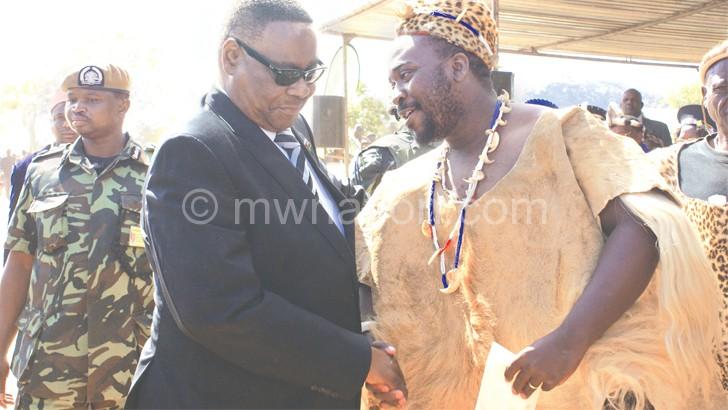 Chikulamayembe, M'mbelwa  endorse Mutharika for 2019 polls
