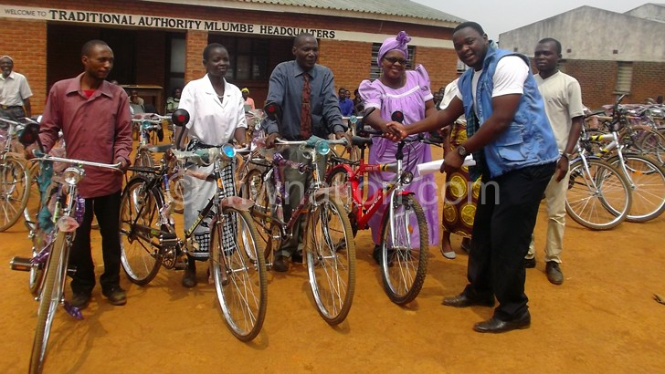 Bicycles to reinforce justice in Zomba communities—Pasi