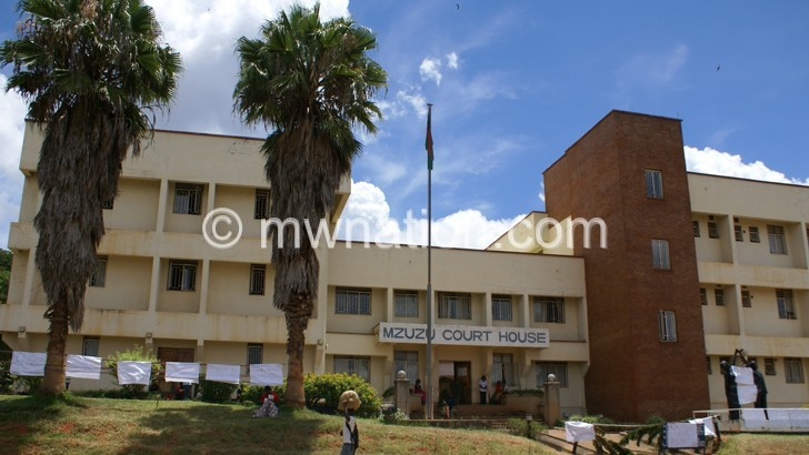 Mzuzu Court House where the two were convicted
