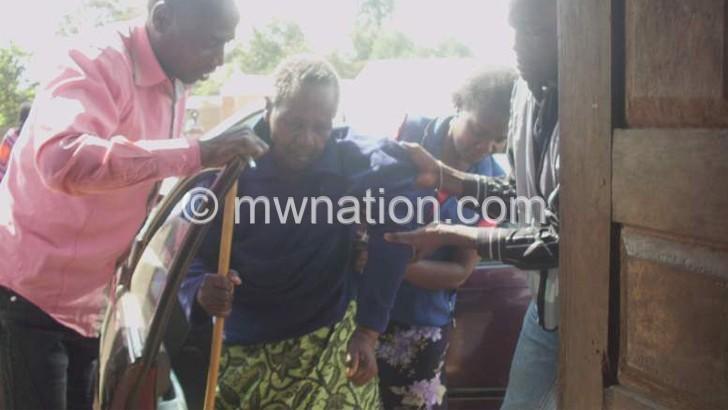 Old woman defies odds to vote in Chibanja