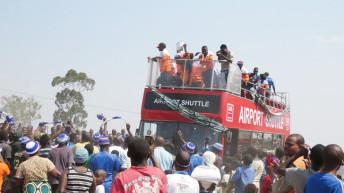 Mutharika salutes Wanderers