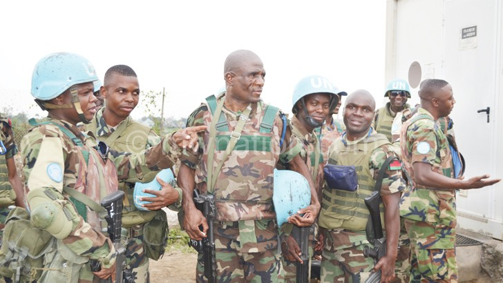 MDF soldiers decry peacekeeping pay