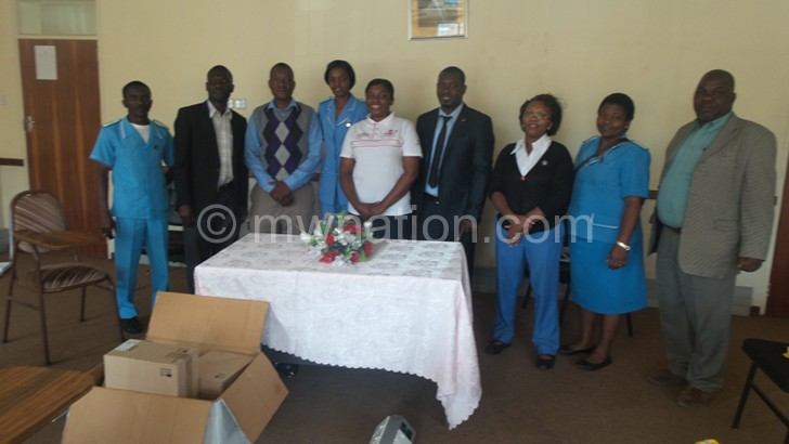Kidney Foundation Donates to  QECH