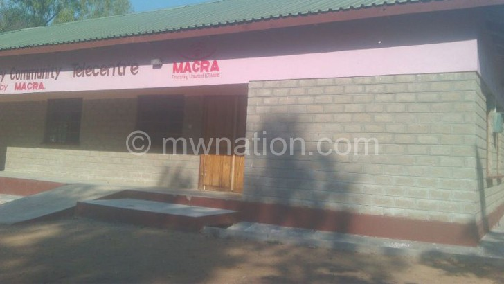 K30m Macra telecentre project stalls in Likoma