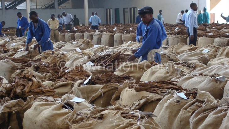 Tobacco remains Malawi's major foreign exchange earner